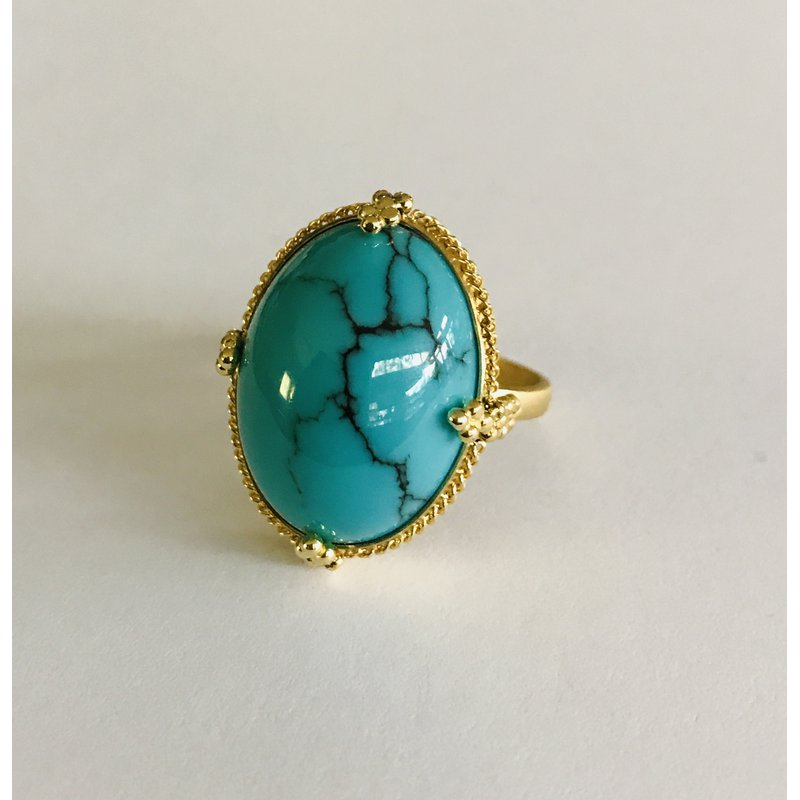 Amali One of a Kind Turquoise Ring