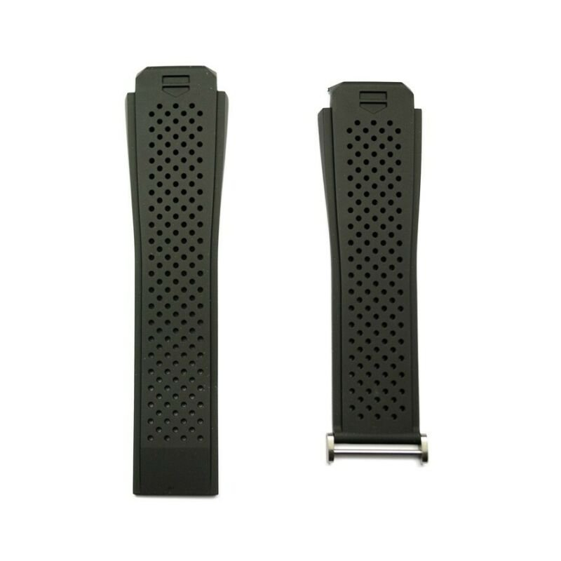TAG Heuer Connected Modular Black Rubber Strap