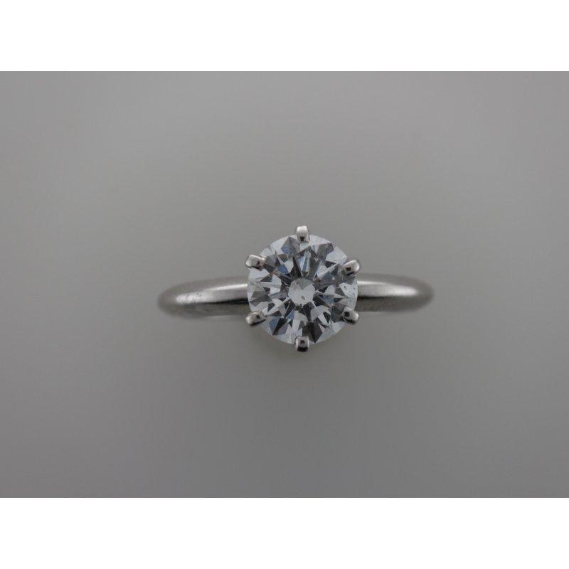 Antique, Estate & Consignment Platinum Solitaire Engagement Ring