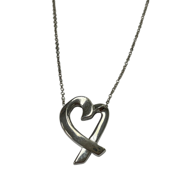 Tiffany & Co. Stamped Loving Heart Necklace