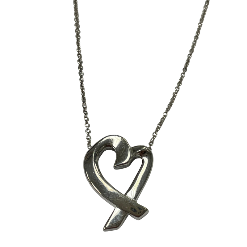 Antique, Estate & Consignment Tiffany & Co. Stamped Loving Heart Necklace