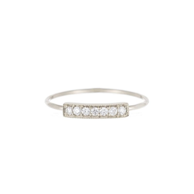 Jennie Kwon Diamond Segment Ring