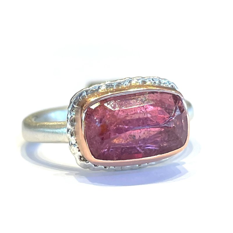 Jamie Joseph Inverted Pink Tourmaline Ring