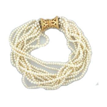 Freshwater Pearl Multi Strand Bracelet