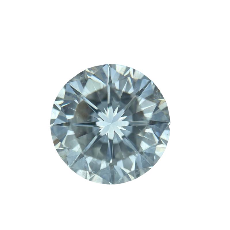 Hurdle's Loose Diamonds 2.21 Carat Round Brilliant Cut GIA D / SI2