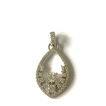 Multi-Shaped Diamond Pendant