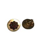 Antique, Estate & Consignment Cluster Garnet Earrings