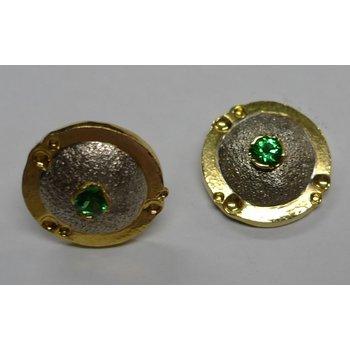 Tsavorite Garnet Earrings