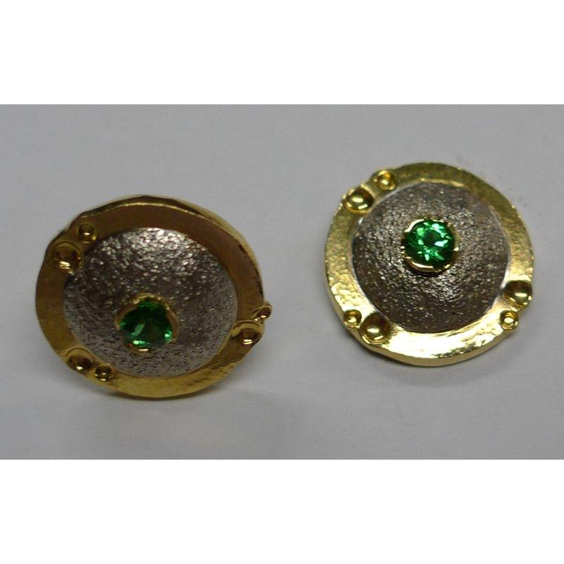 Richard Kimball Tsavorite Garnet Earrings