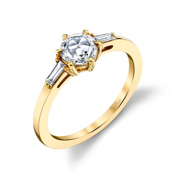 Lumiere Bridal Rose Cut Diamond Ring LMBR3982