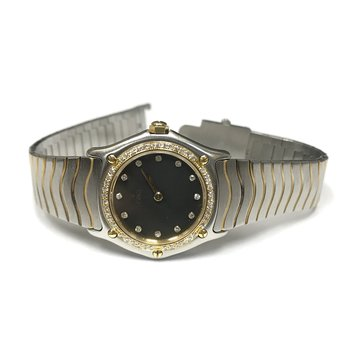 Ebel Classic Two Tone Wave Watch