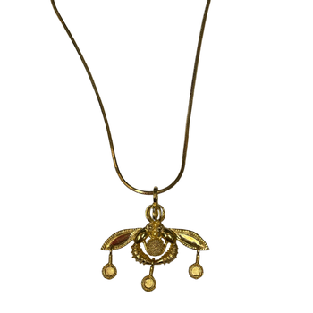 18k Bee Necklace