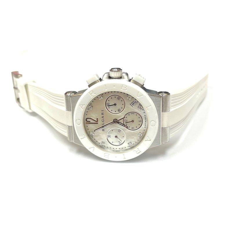 Antique, Estate & Consignment Bulgari Diagono Chronograph Watch