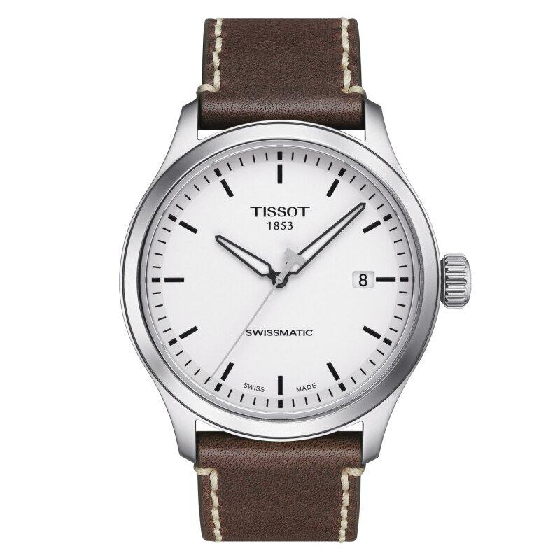 Tissot Gent XL Swissmatic - White & Brown