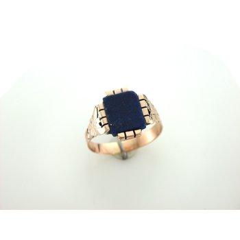 Lapis Signet Ring