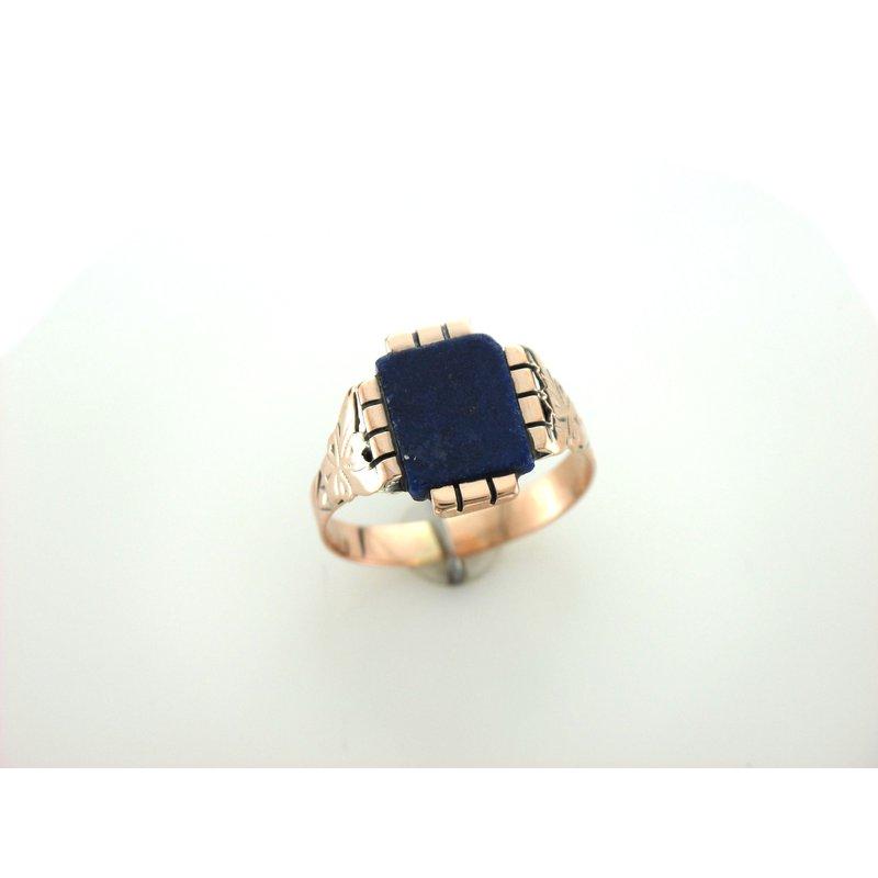 Antique, Estate & Consignment Lapis Signet Ring