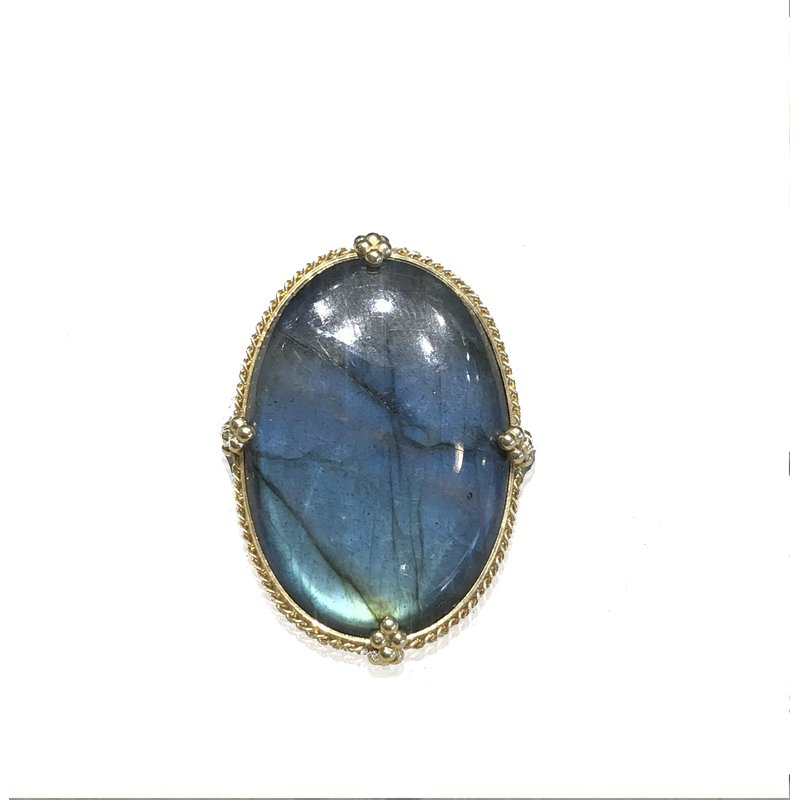 Amali One of a Kind Labradorite Ring