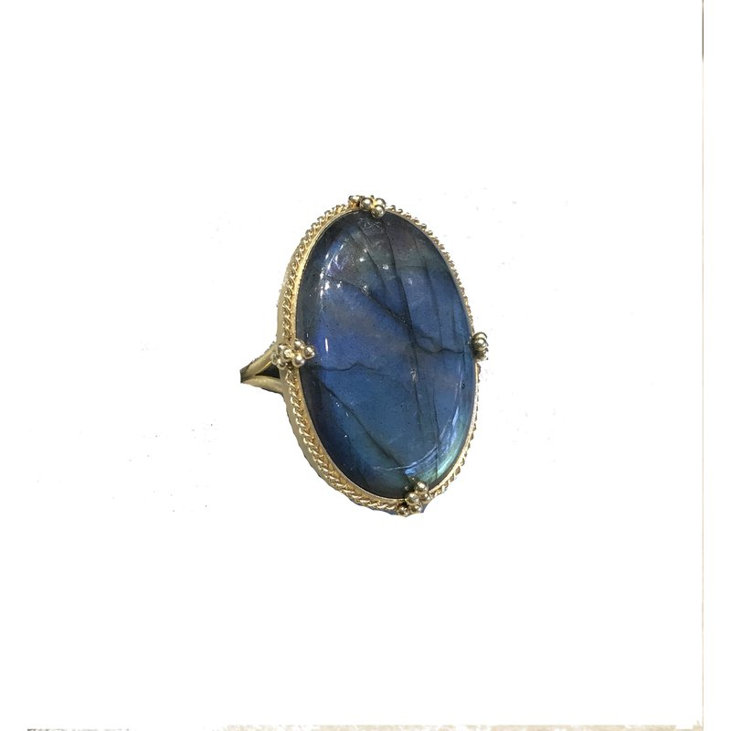 Amali One of a Kind Labradorite Ring