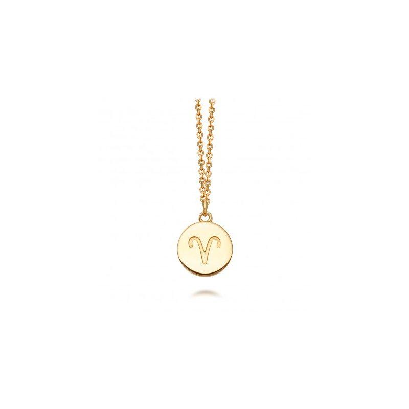 Astley Clarke Aries Zodiac Necklace