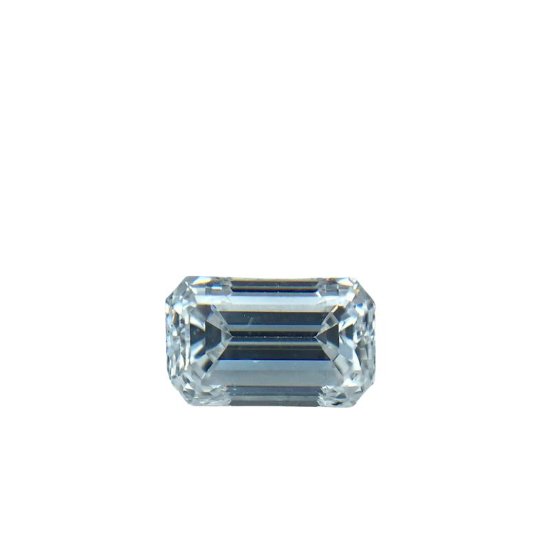 Hurdle's Loose Diamonds 0.51 Carat Emerald Cut F/VVS2