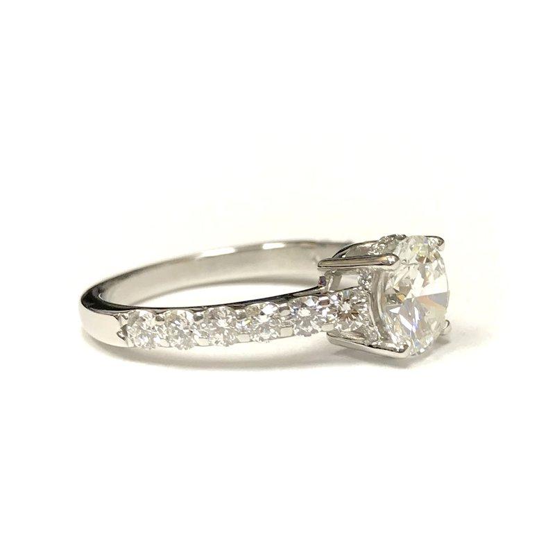 Hurdle's Custom Designs 1.48 Carat Diamond Engagement Ring