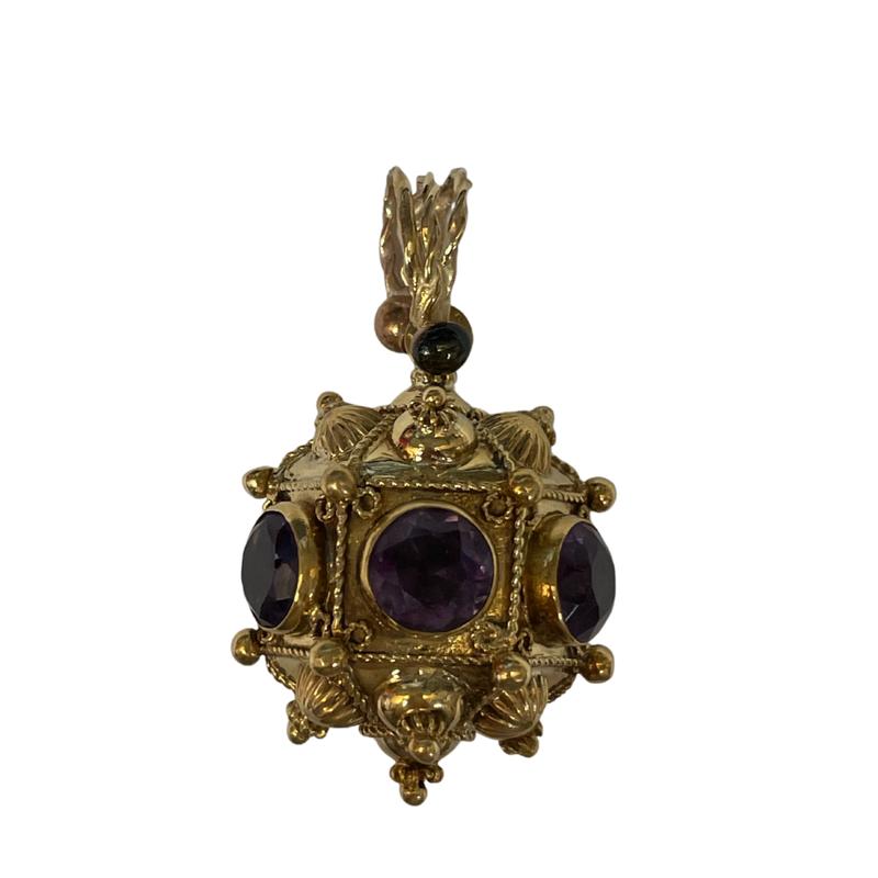 Antique, Estate & Consignment Amethyst Decorative Pendant