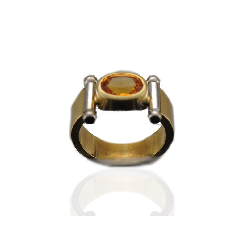 Antique, Estate & Consignment Contemporary Yellow Sapphire Ring