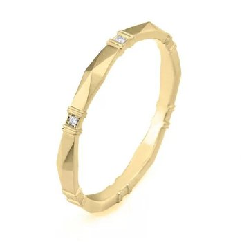 Viola Diamond Wedding Band