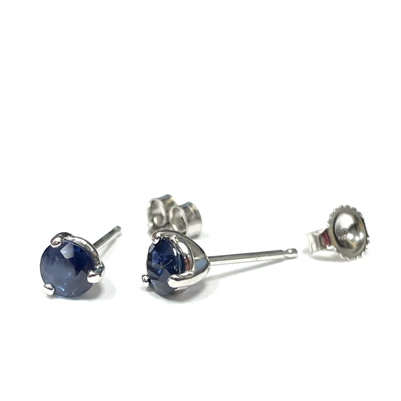 Hurdle's Jewelry Collection 0.65 Carat Sapphire Stud Earrings