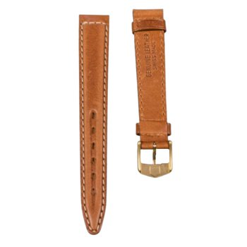 Brown Leather 14mm Strap