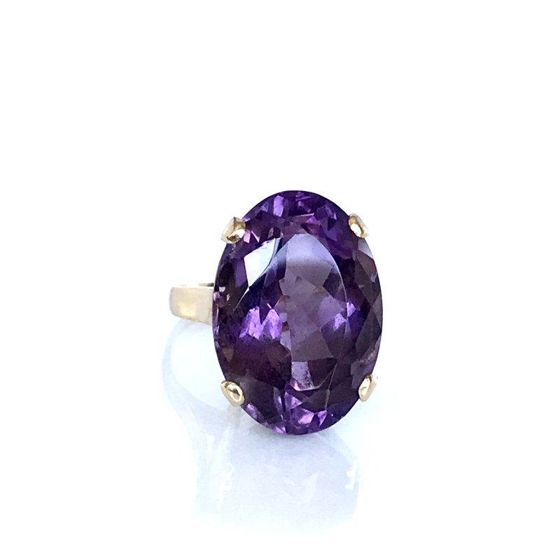Antique, Estate & Consignment Cocktail Amethyst Ring