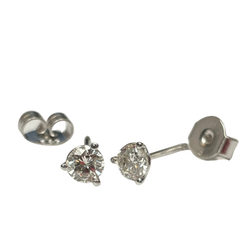0.43 Carat Diamond Stud Earrings