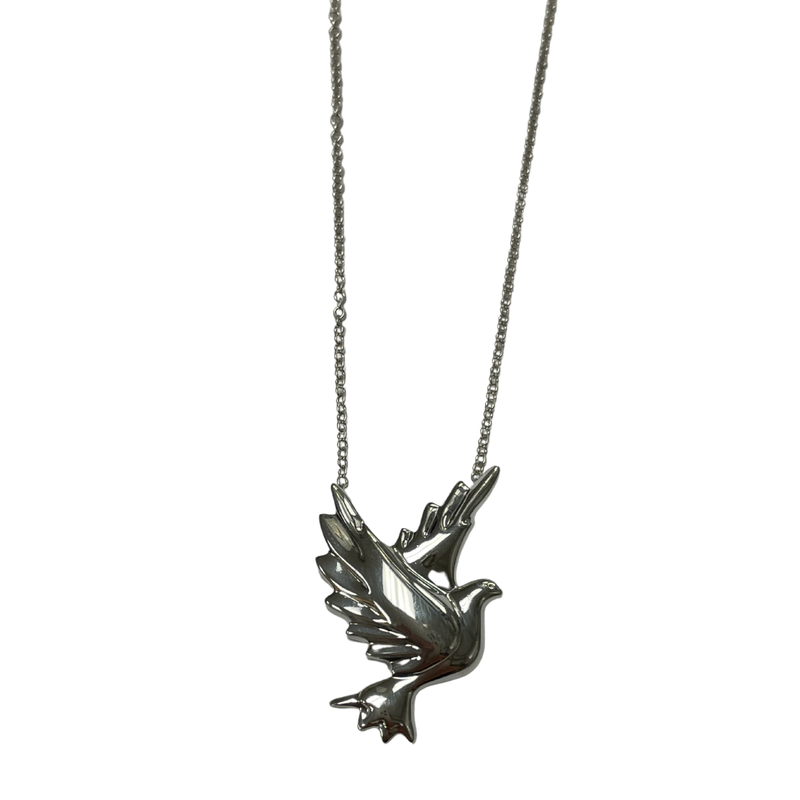 Antique, Estate & Consignment Tiffany & Co. Stamped Paloma's Dove Necklace