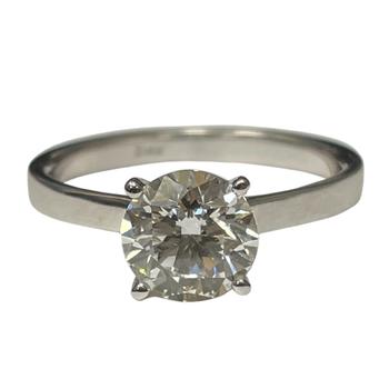 1.50 Carat Round Brilliant Engagement Ring