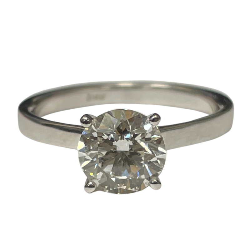 Hurdle's Jewelry Collection 1.50 Carat Round Brilliant Engagement Ring