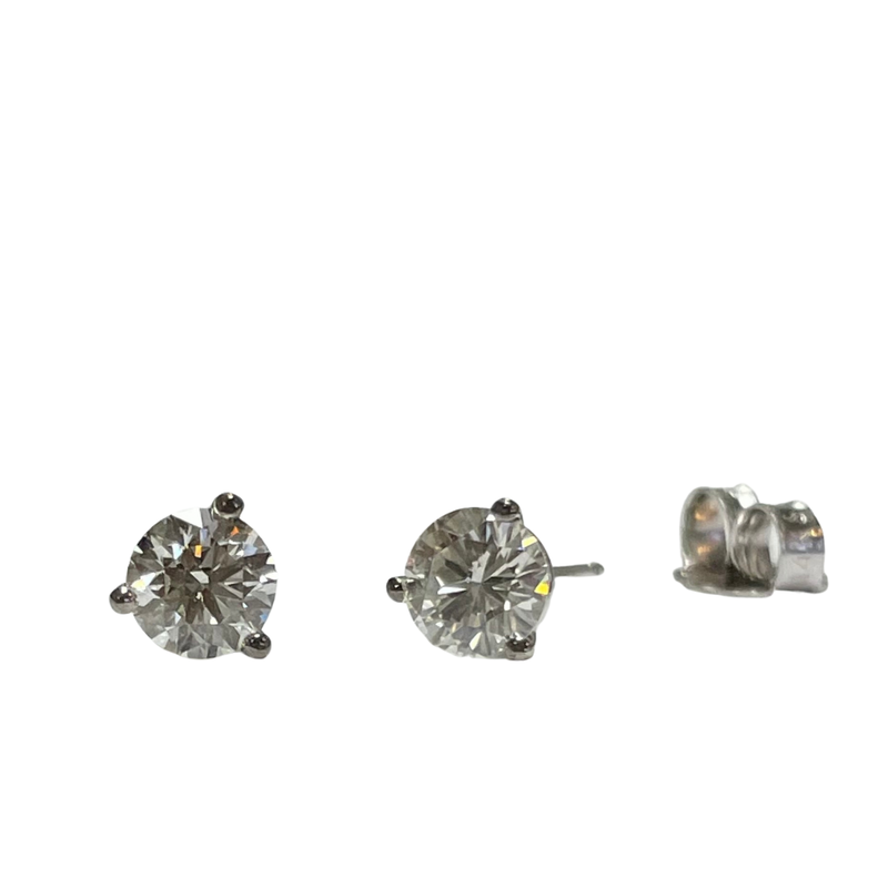 Hurdle's Jewelry Collection 0.74 Carat TWT Diamond Studs