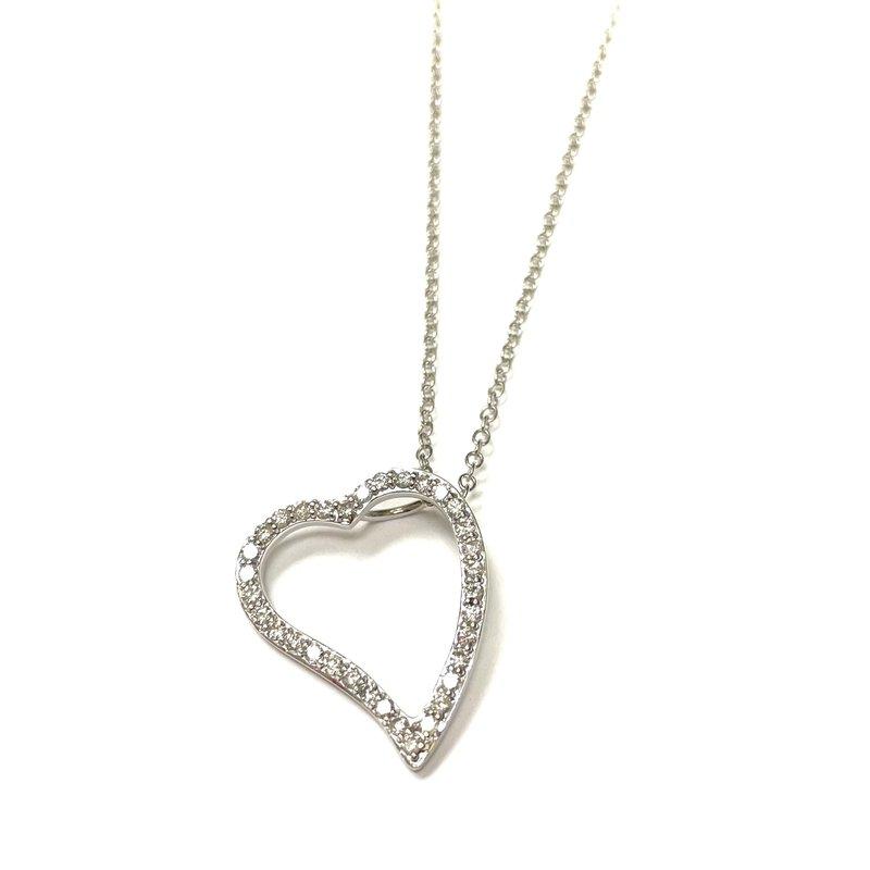 Antique, Estate & Consignment Diamond Heart Necklace