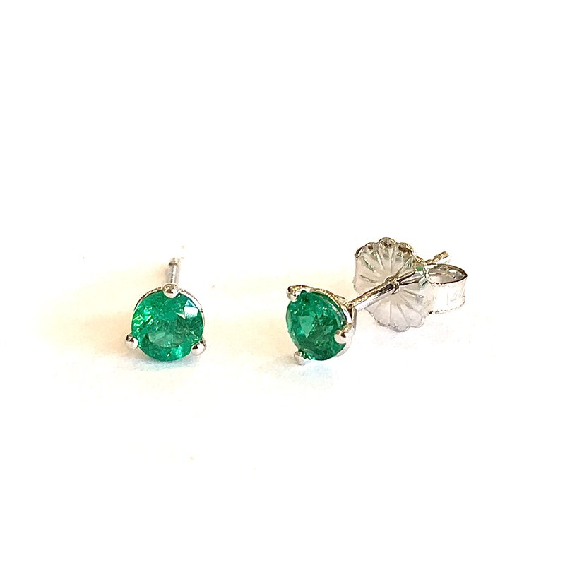 Hurdle's Jewelry Collection Emerald Stud Earrings