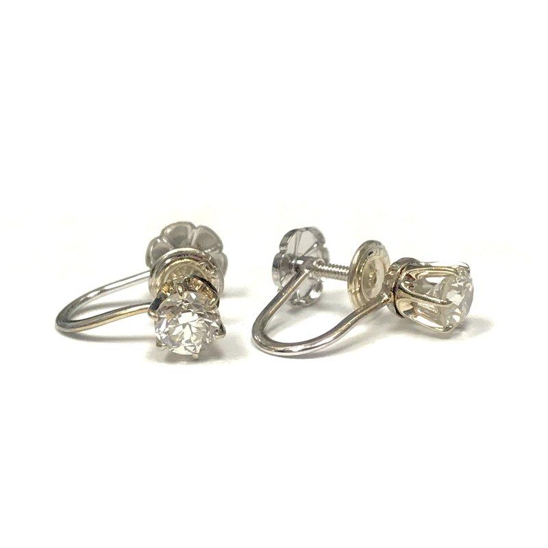 Antique, Estate & Consignment Non-Pierced Diamond Earrings
