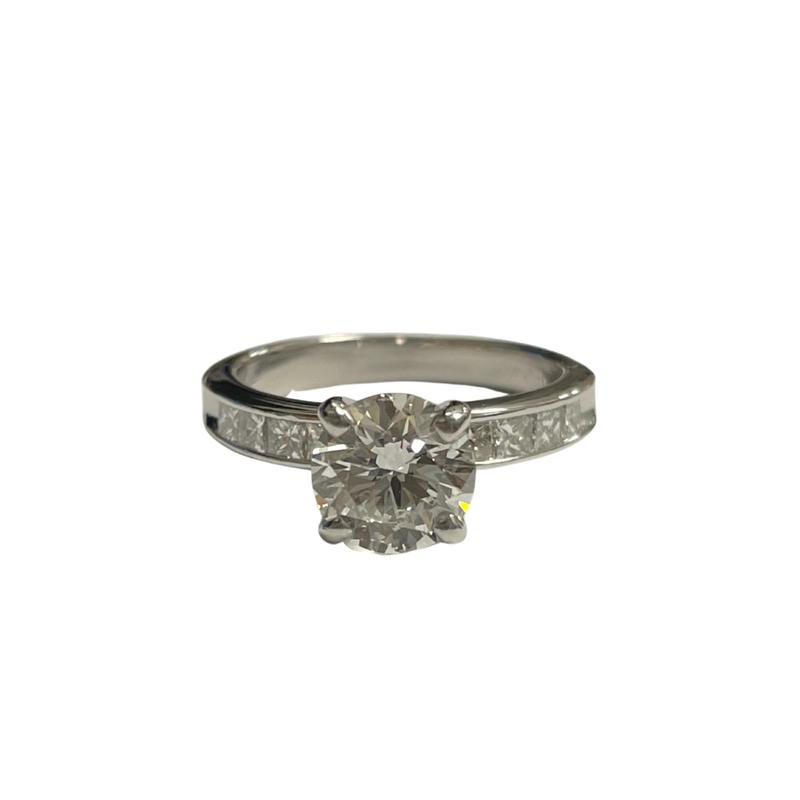 Antique, Estate & Consignment 1.23 Carat Diamond Engagement Ring