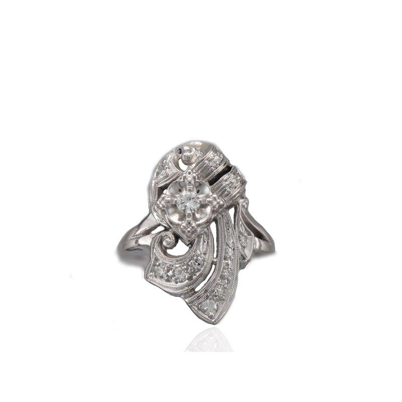 Antique, Estate & Consignment Diamond Cocktail Ring