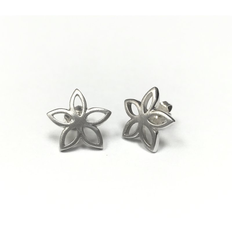 Antique, Estate & Consignment Sterling Silver Flower Earrings