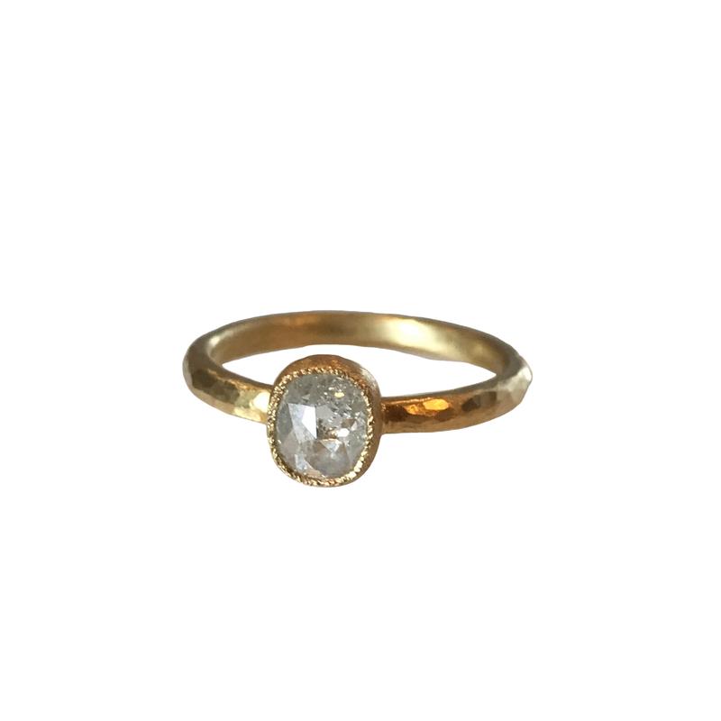 Yasuko Azuma Jewelry Icy Gray Diamond Ring