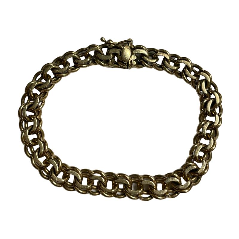 Antique, Estate & Consignment 14k Double Link Bracelet