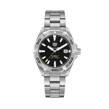 Aquaracer Calibre 5 - 41mm Black Dial
