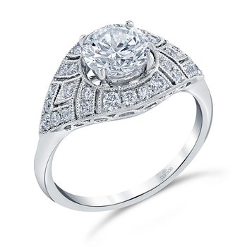 Hera Bridal Vintage Style Engagement Ring R4356