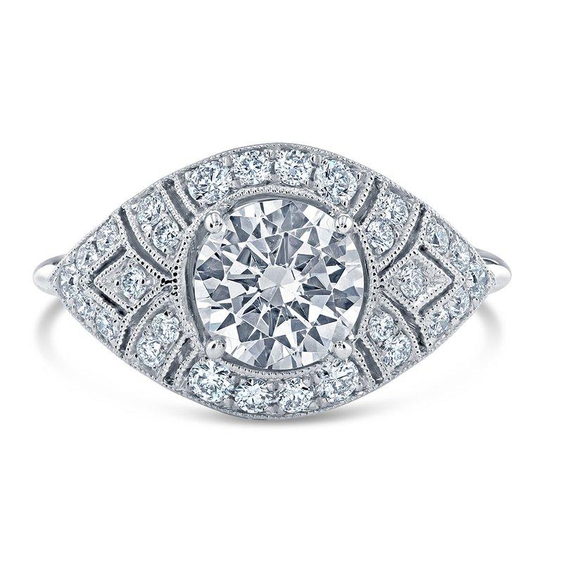 Parade Design Hera Bridal Vintage Style Engagement Ring R4356