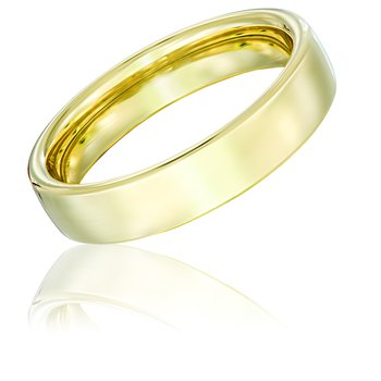 14k Yellow Gold 5mm Band