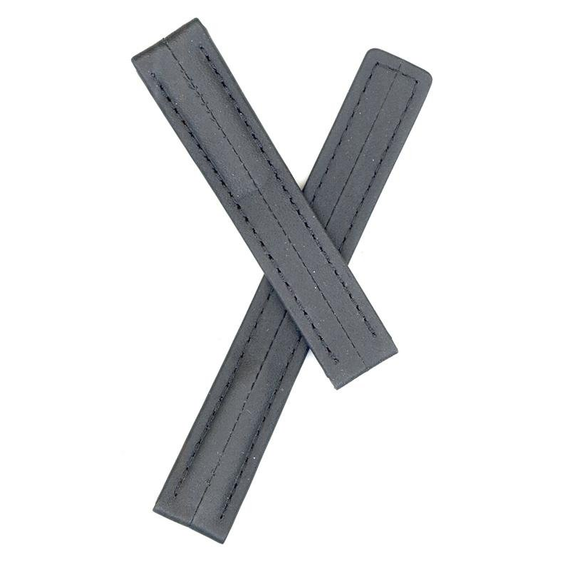 TAG Heuer Black 15mm TAG Strap Insert for Deployment Buckle
