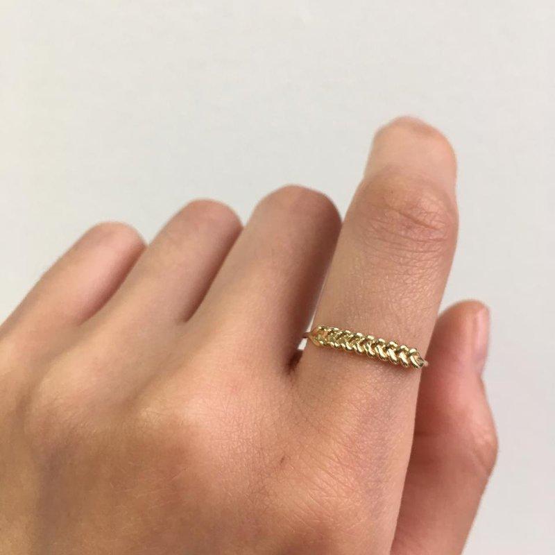 Jennie Kwon Braided Ring